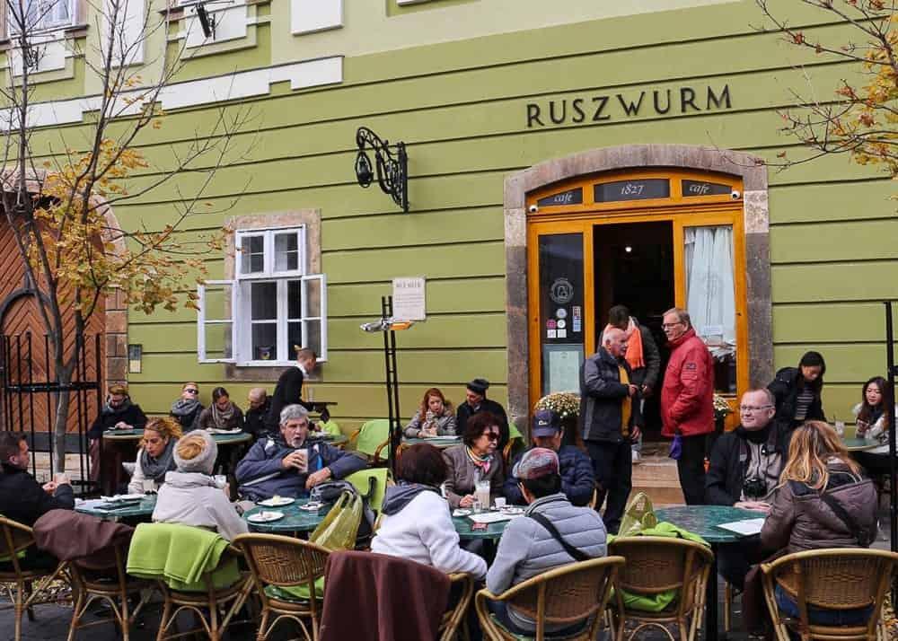 Ruszwurm Café in Budapest