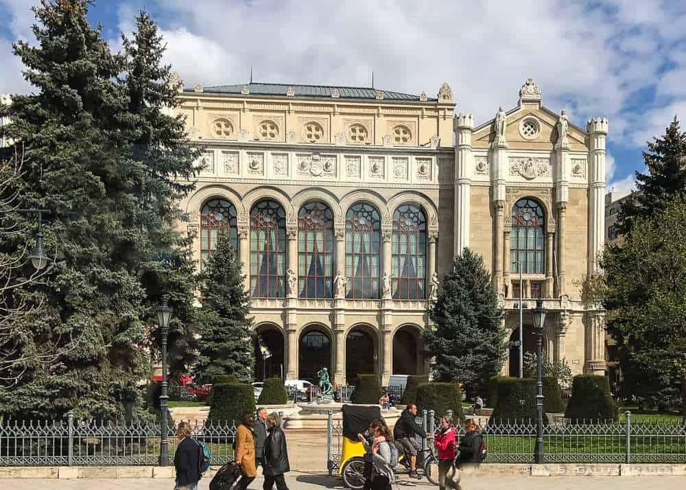 Cultural venuein Budapest
