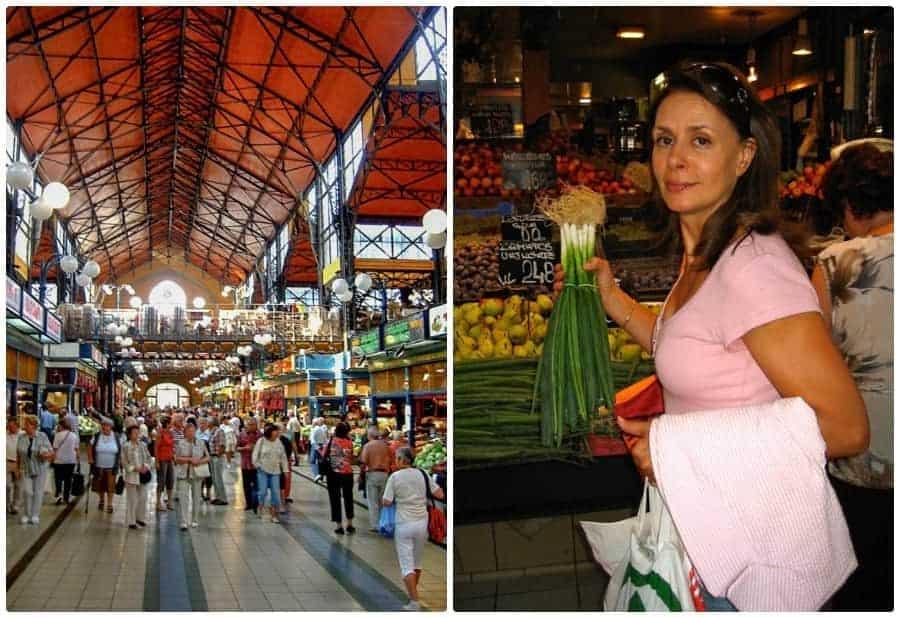 Inside Budapest's Great Market Hall