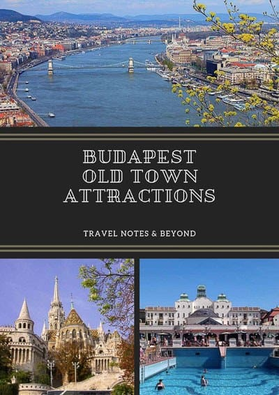 Budapest Old Town pin