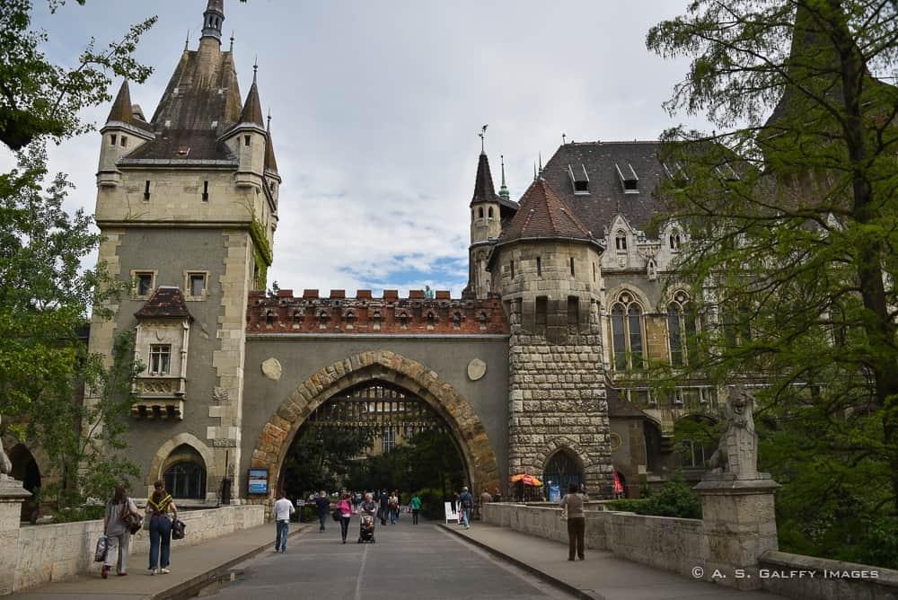 Vajdahunyad Castle - 3 days in Budapest itinerary