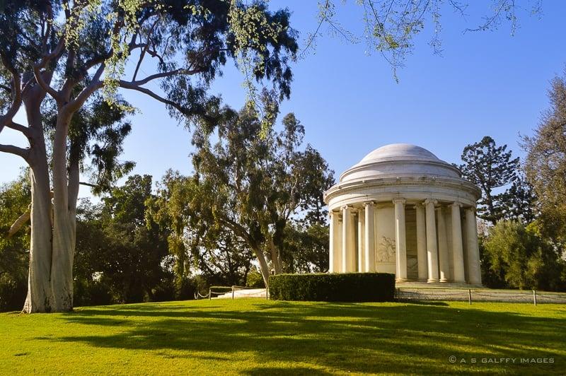 Mausoleum at Huntington Library & Gardens