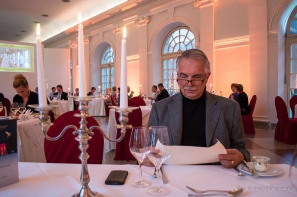 Dinner at Schloss Charlottenburg