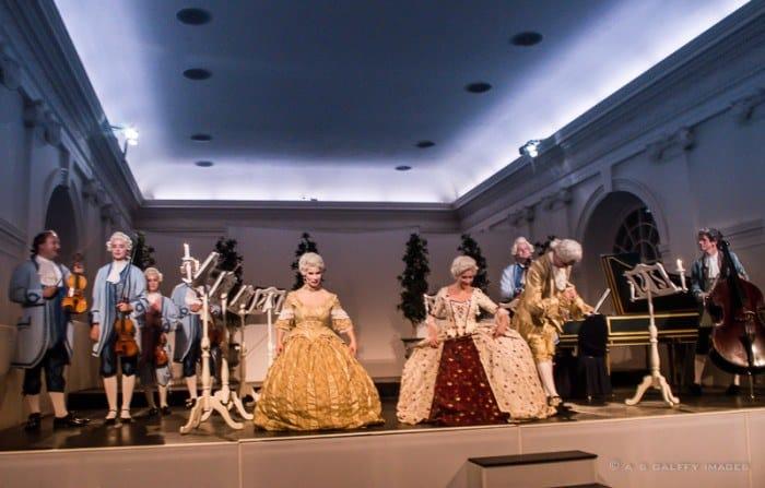 Musical soiree at Schloss Charlottenburg