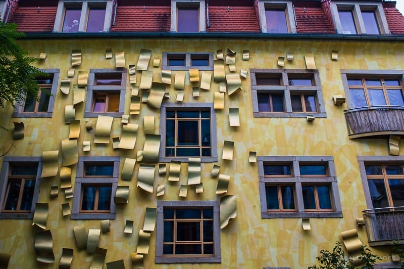 The Singing Drain Pipes of Kunsthofpassage