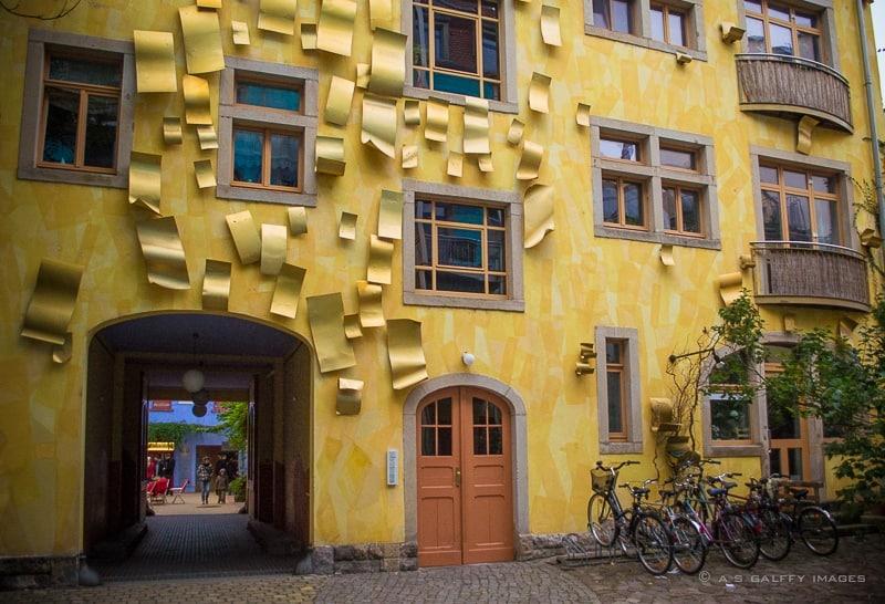 Courtyard of the Light in Kunsthofpassage