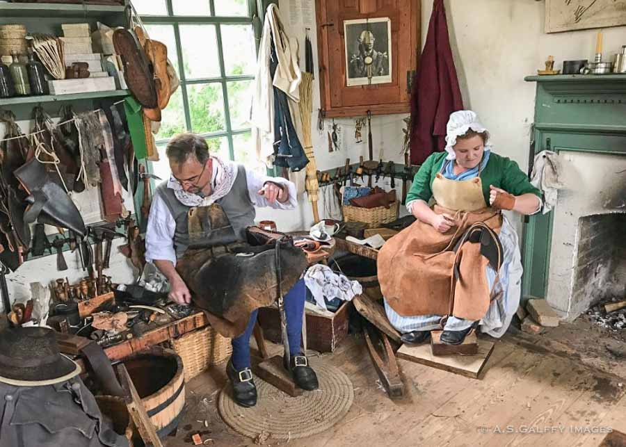 Workshops in Colonial Williamsburg