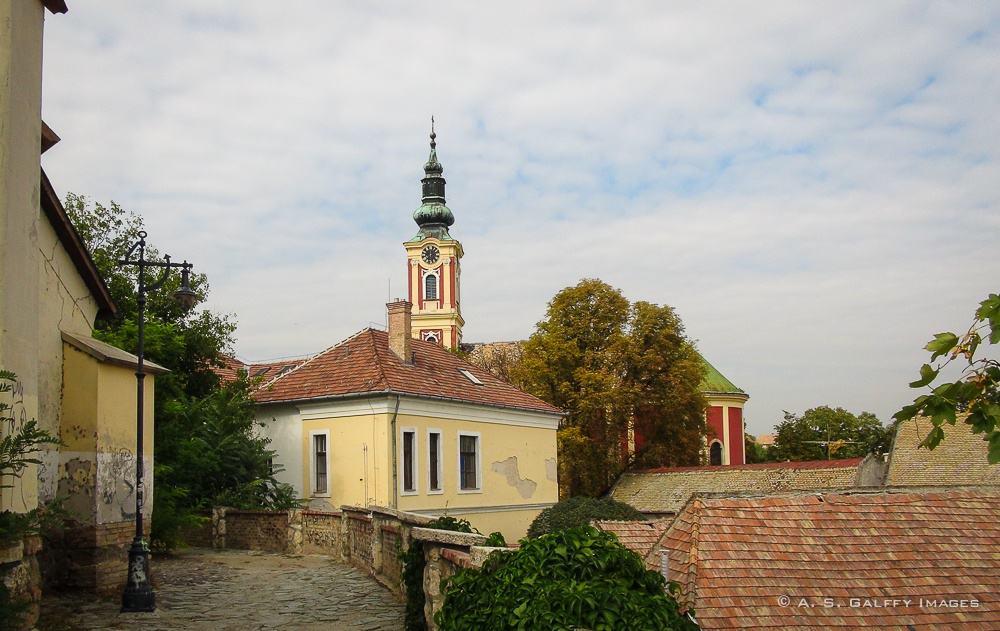 View of the Saint János Roman Catholic Church Szentendre