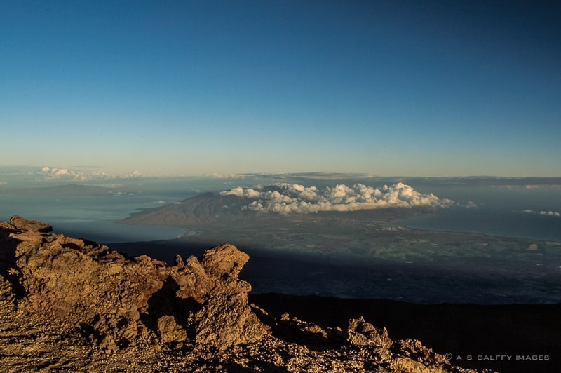 Image showing the sunrise at Haleakala