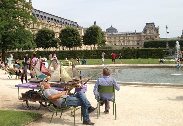 The Weekly Postcard:  Le Jardin des Tuileries, Paris