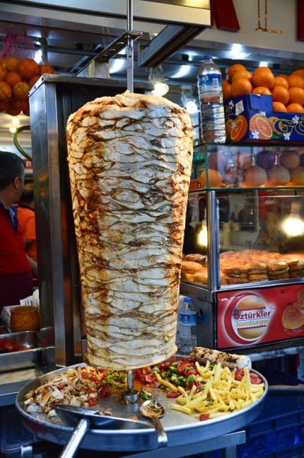 Food in Istanbul: Shawarma
