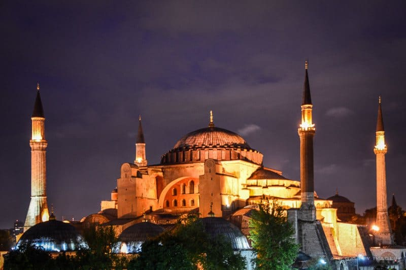 Hagia Sophia is a Controversial Monument - as seen on TravelNotesAndBeyond.com