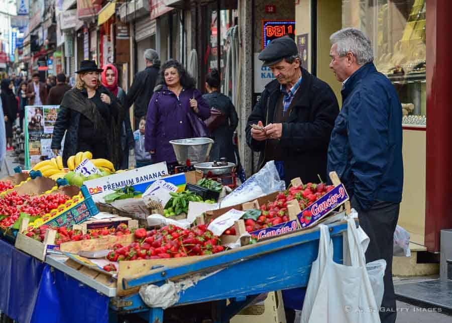 Istanbul open market