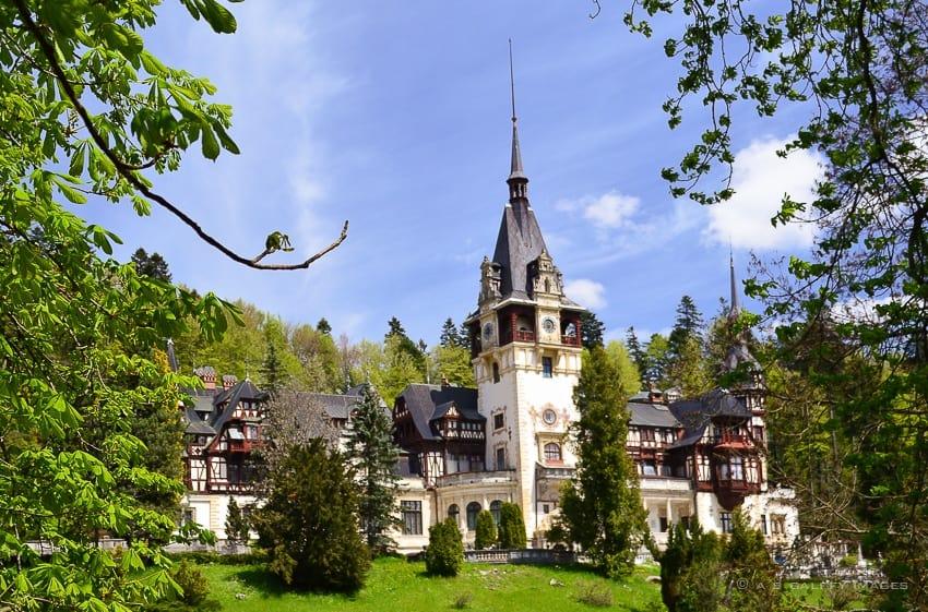 Peles Castles in Romania
