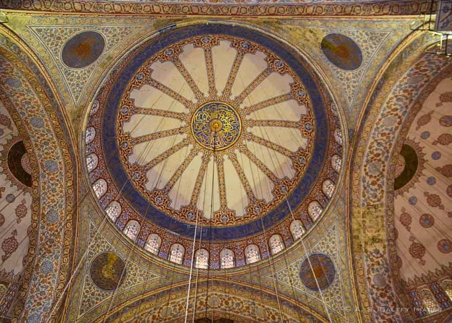 Suleymania mosque dome