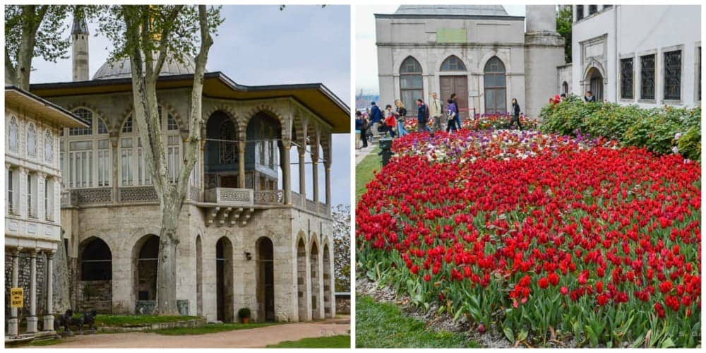 Visiting Topkapi pavilion and gardens - things to do in Istanbul