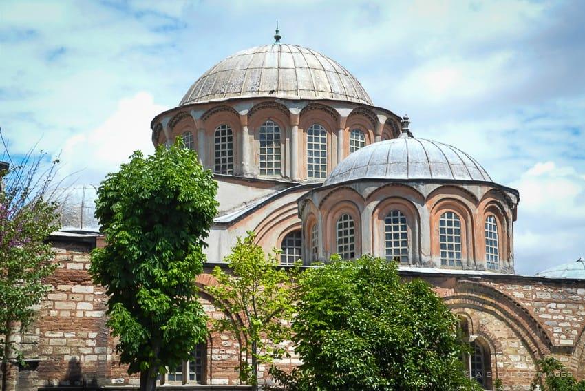 Chora Church Museum in Istanbul