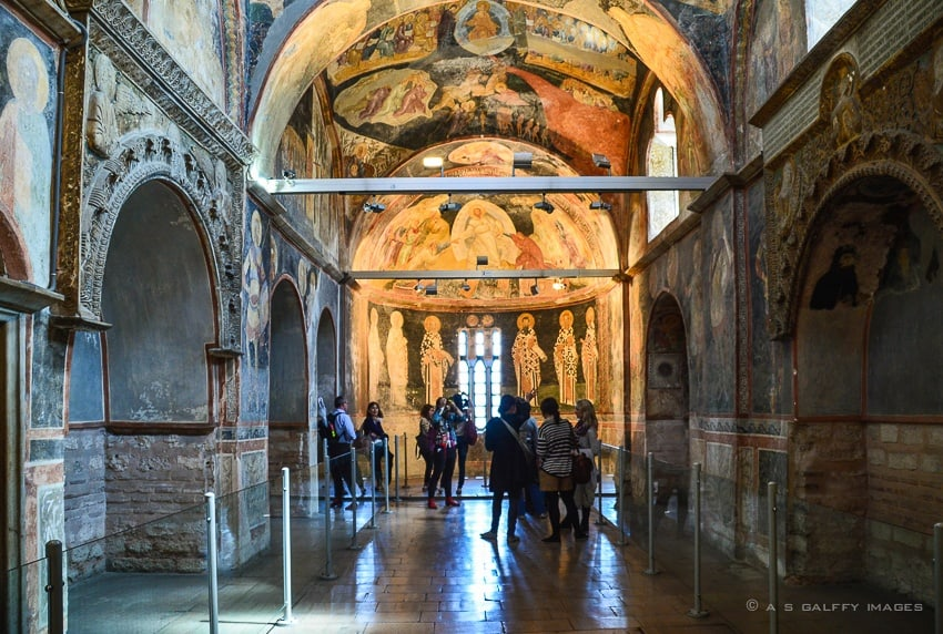 Chora Church - attractions in Istanbul