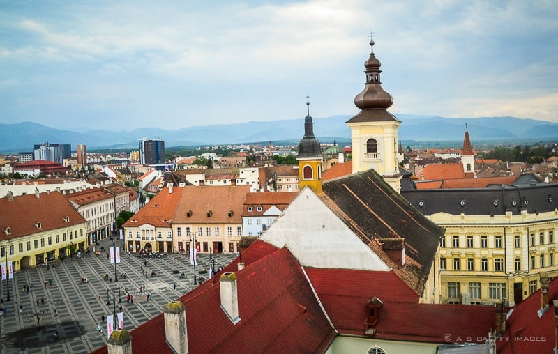 Sibiu historic buildings