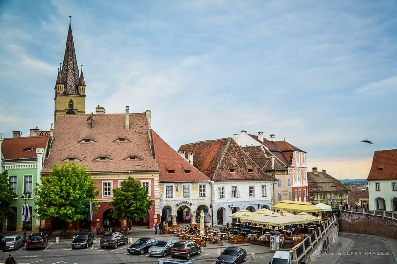 The Small Square of Sibiu