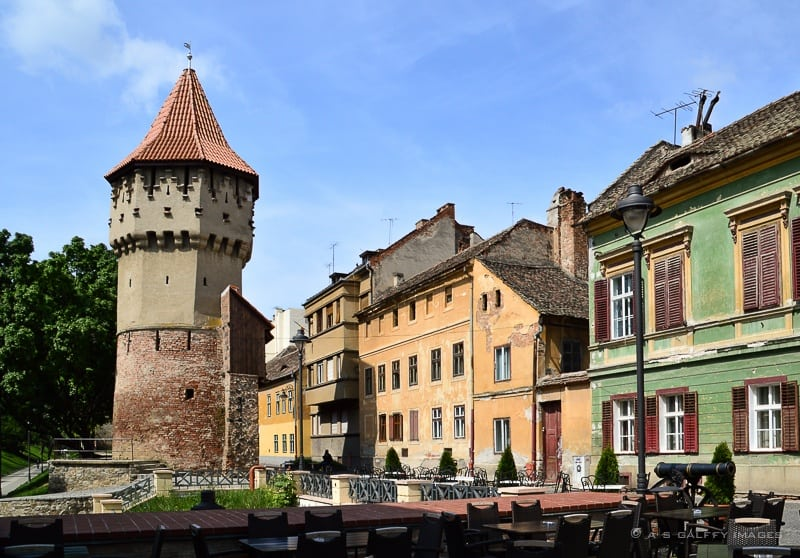 Sibiu historic center