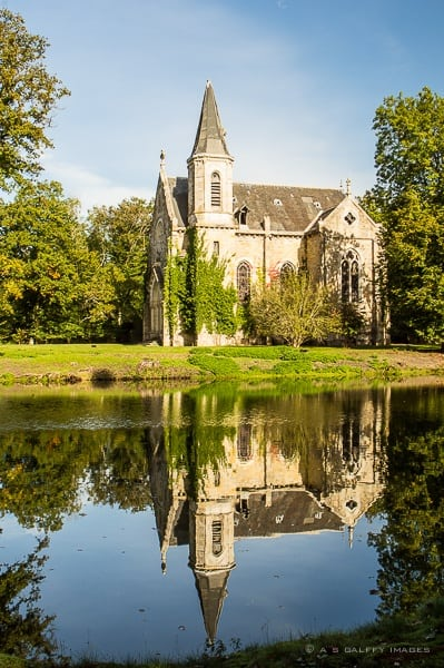 The chapel at Chateau Saint-Aubin