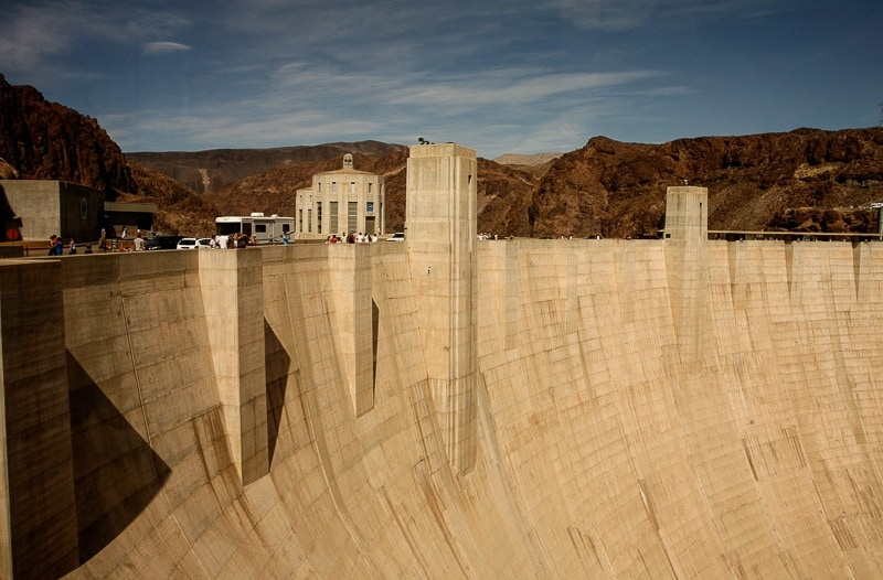The Weekly Postcard:  Hoover Dam on Colorado River