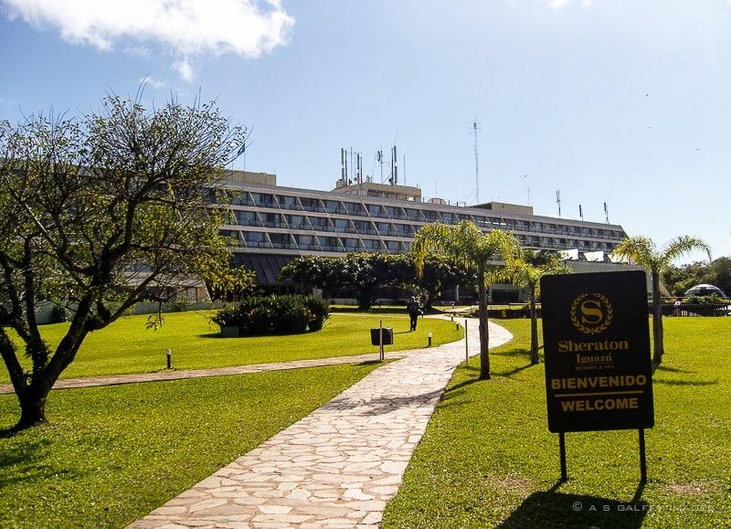 Sheraton Hotel next to Iguazu Park