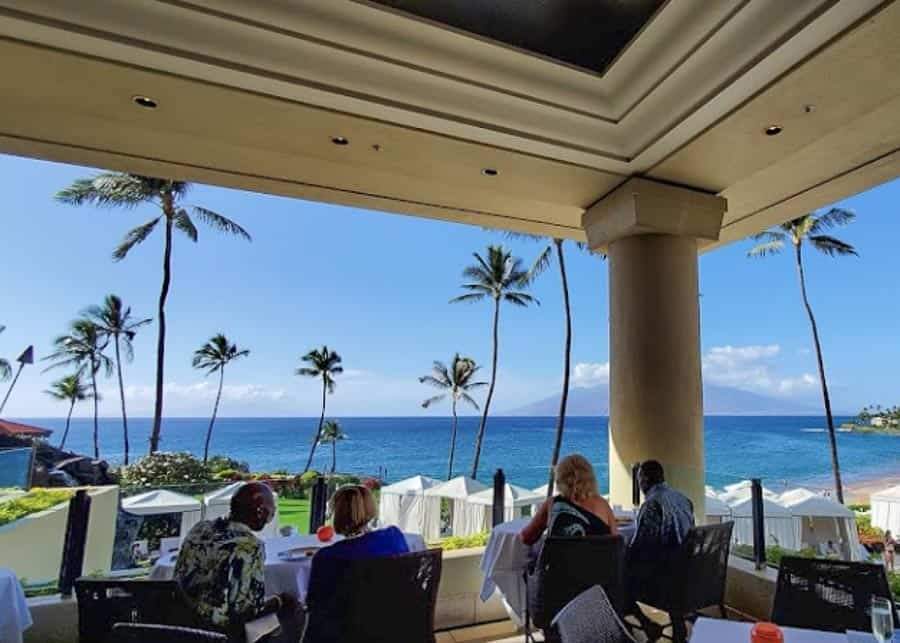 Spago, one of the best places to eat on Maui