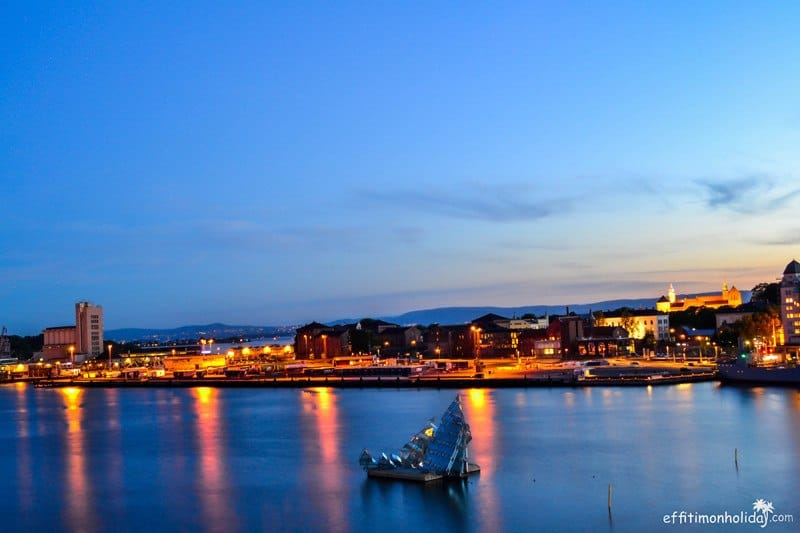 Weekly Postcard: Oslo Waterfront