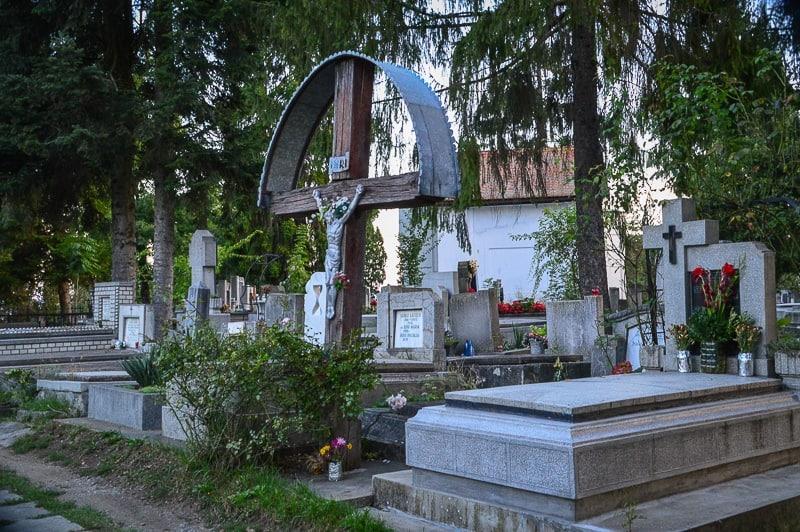 The Old Reformed Cemetery in Târgu Mures