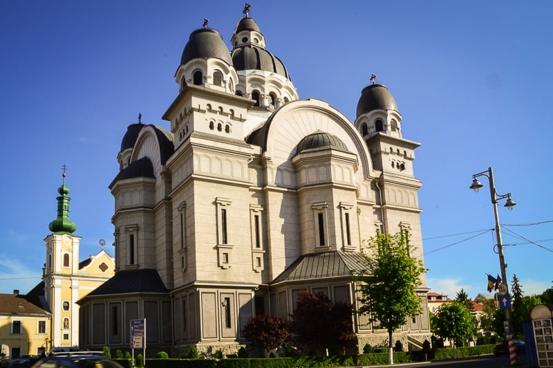 The Orthodox Cathedral in Târgu Mures
