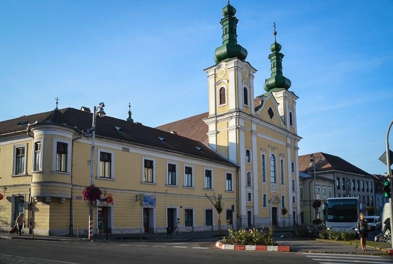 The Roman Catholic Church in Târgu Mures, Romania