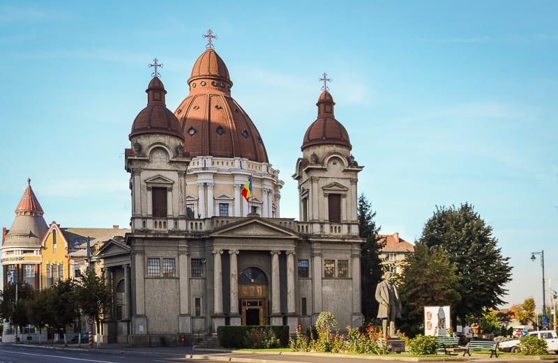 Things to do in Târgu Mures: visit the Greek Catholic Church