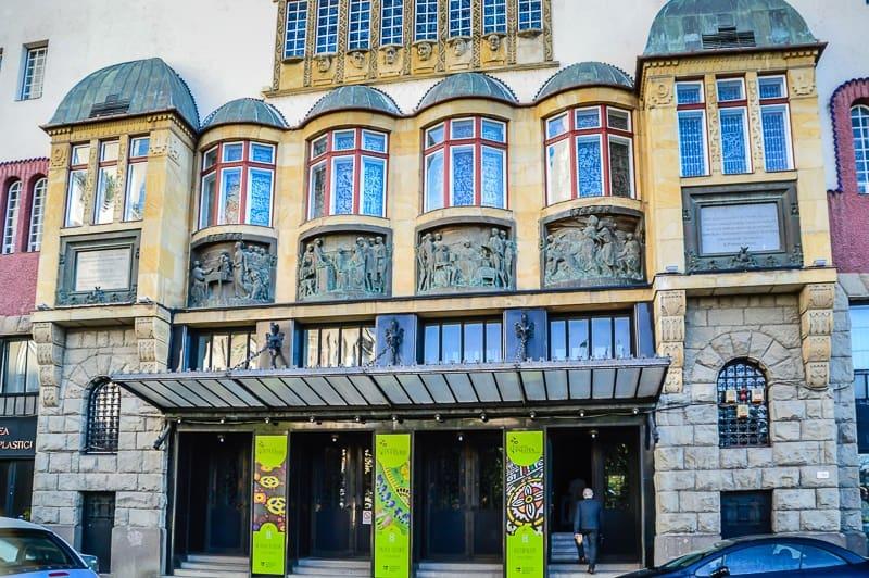 Palace of Culture façade