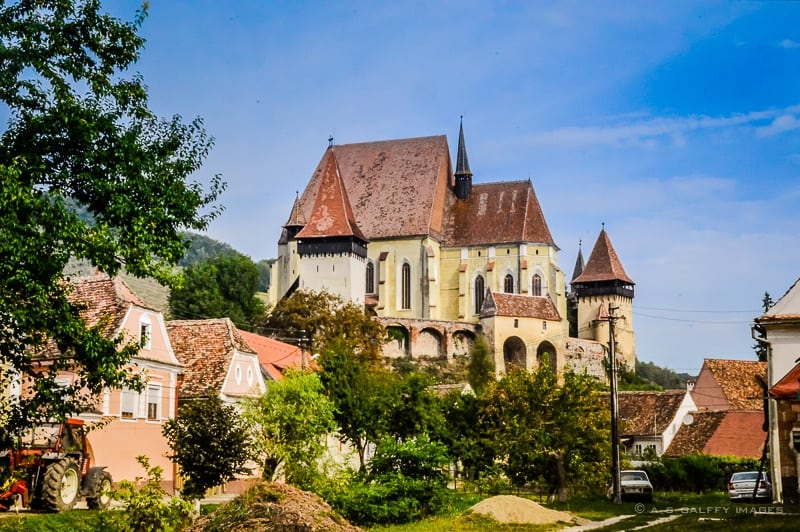 view of the Fortified Church of Biertan