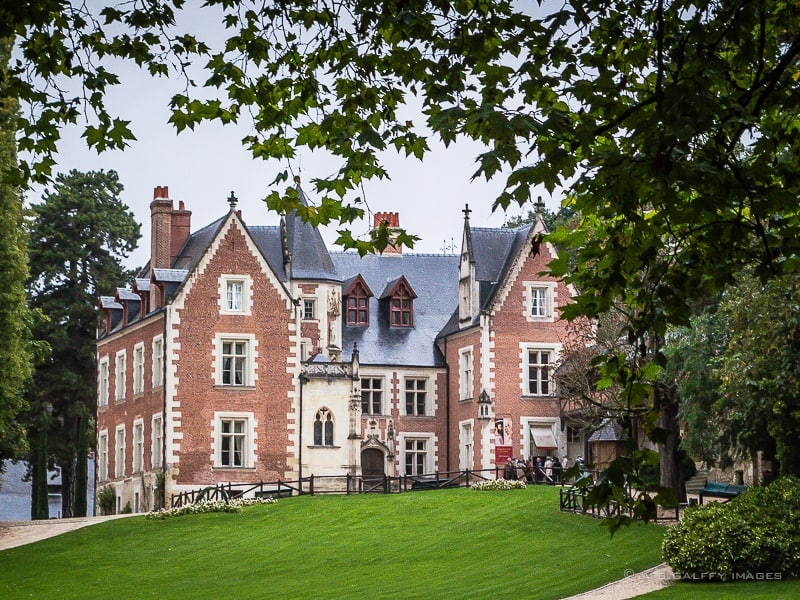 Chateau du Clos Luce in the Loire Valley