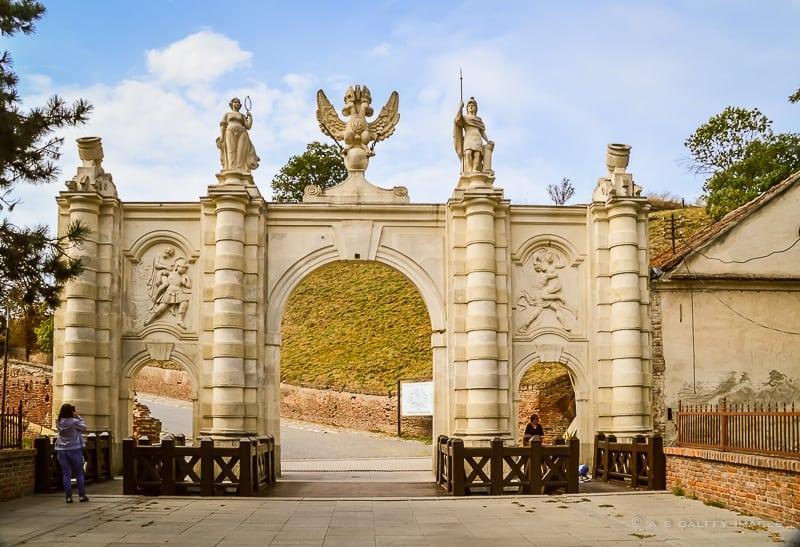 Alba Iulia Citadel First gate