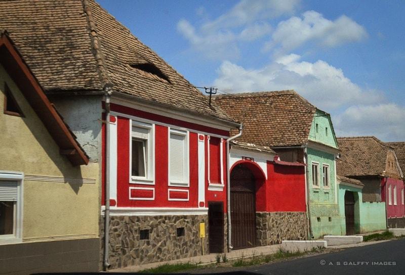 Village in Transylvania, Romania