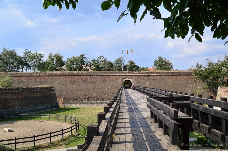 Fortification walls of the Alba Iulia Citadel