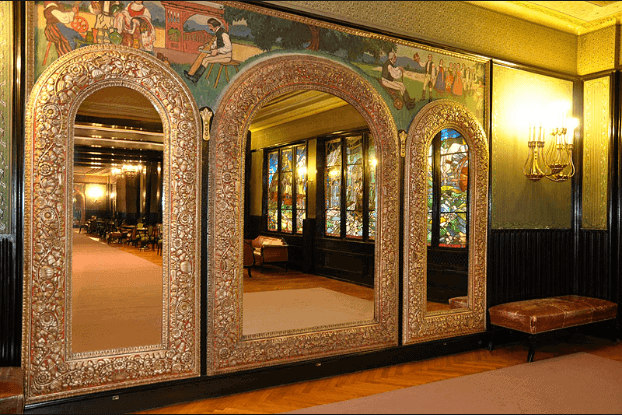 The Hall of Mirrors at the Palace of Culture in Târgu Mures