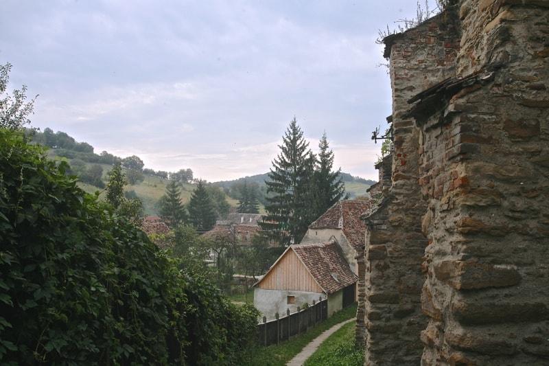 Wall of the Fortified Church of Biertan