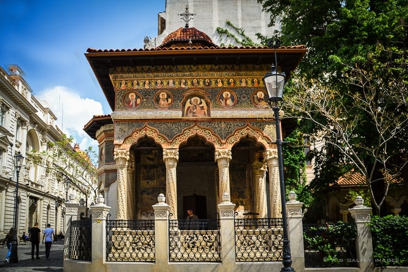 The Weekly Postcard: Stavropoleos Monastery in Bucharest