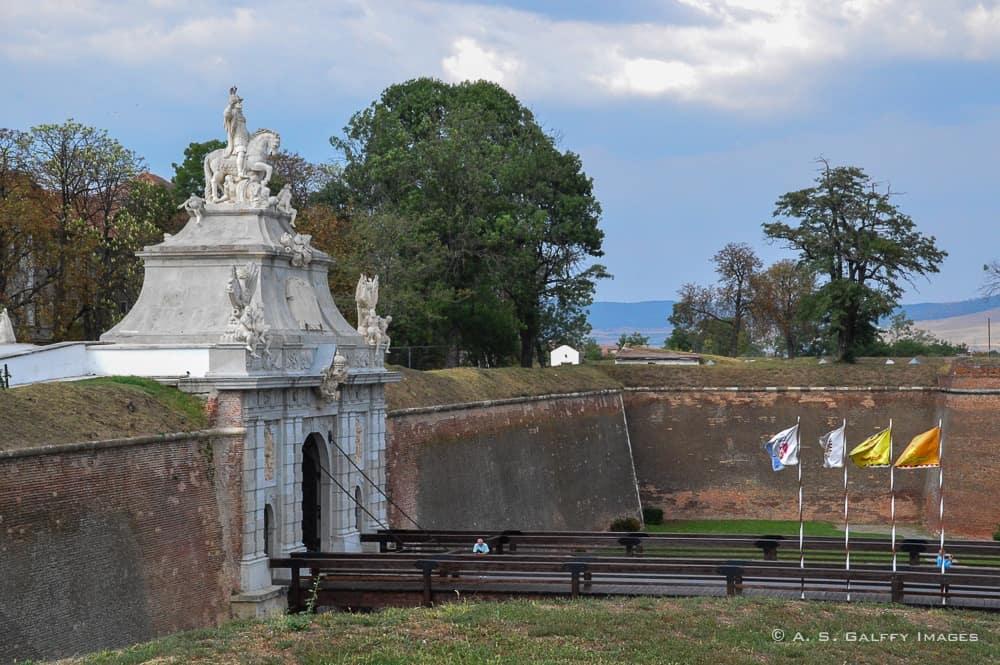One of the Gates at Alba Iulia Citadel
