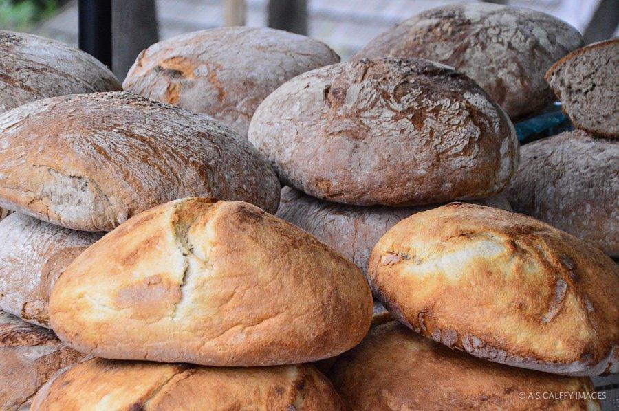 bread loafs freshly baked