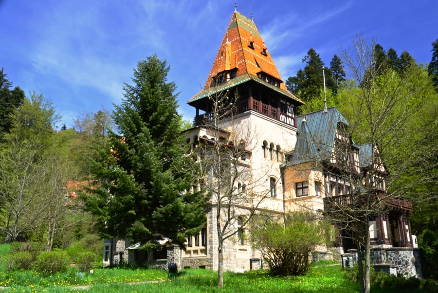 The Weekly Postcard: Pelisor Castle in Sinaia