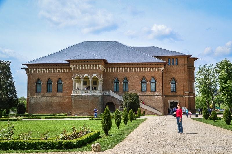The Weekly Postcard: Mogosoaia Palace