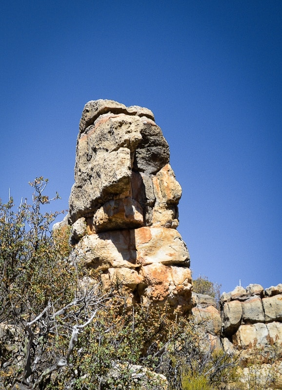 Walnut Canyon rock formations