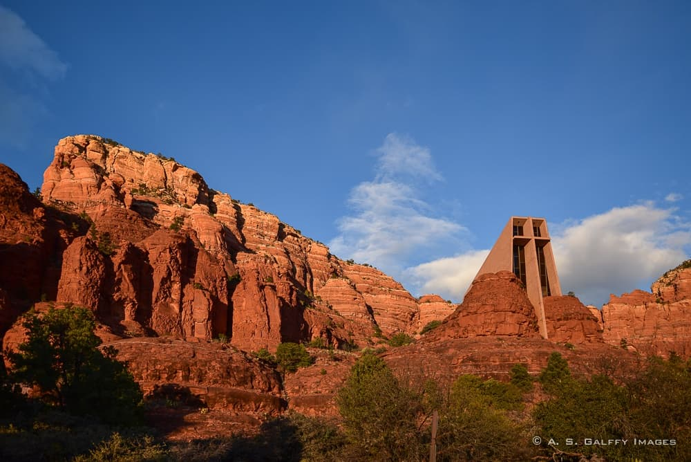 One day in Sedona: the Chapel of the Holy Cross