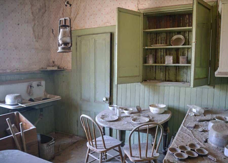 Kitchen in Bodie Ghost Town